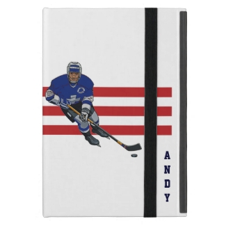 Patriotic Hockey Design iPad Air Case