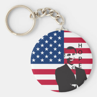 Patriotic Hope Keychain
