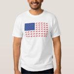 Patriotic Horses American Flag Shirt