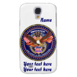 Patriotic HTC Vivid AT&T model View Notes Please Samsung Galaxy S4 Cases