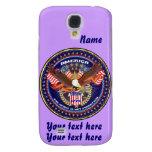 Patriotic HTC Vivid AT&T model View Notes Please Galaxy S4 Case