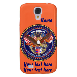 Patriotic HTC Vivid AT&T model View Notes Please Galaxy S4 Cover
