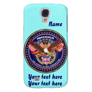 Patriotic HTC Vivid AT&T model View Notes Please Samsung S4 Case