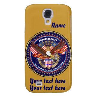 Patriotic HTC Vivid AT&T model View Notes Please Samsung S4 Case