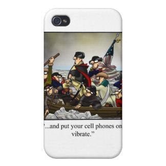 Patriotic Humorous Cartoon Iphone Cover! Case For iPhone 4