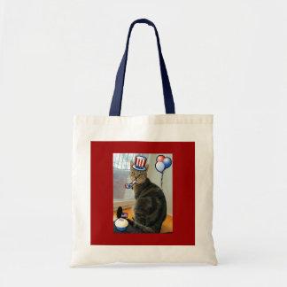 Patriotic Indigo Tote Bag