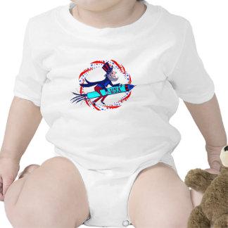Patriotic Infant Creeper