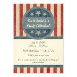 "Patriotic Invitation 5"" X 7"" Invitation Card"