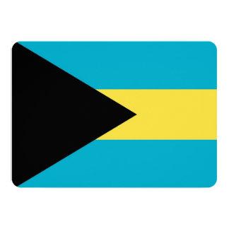 Patriotic invitations with Bahamas Flag