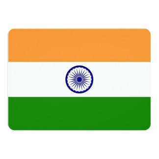 Patriotic invitations with India Flag Announcements