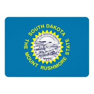 Patriotic invitations with South Dakota Flag
