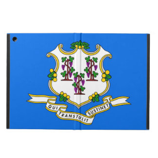 Patriotic ipad case with Flag of Connecticut