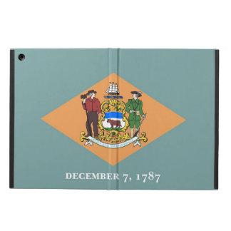 Patriotic ipad case with Flag of Delaware