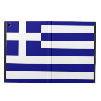 Patriotic ipad case with Flag of Greece