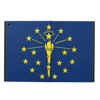 Patriotic ipad case with Flag of Indiana