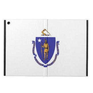 Patriotic ipad case with Flag of Massachusetts