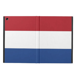 Patriotic ipad case with Flag of Netherlands