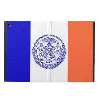 Patriotic ipad case with Flag of New York City