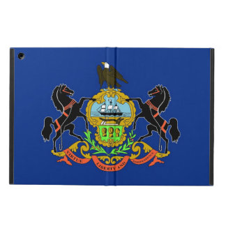 Patriotic ipad case with Flag of Pennsylvania