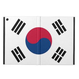 Patriotic ipad case with Flag of South Korea