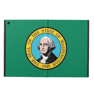 Patriotic ipad case with Flag of Washington State