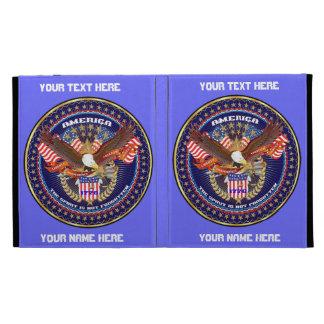 Patriotic iPad Folio View Notes Please iPad Folio Case