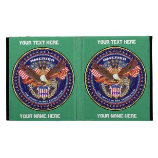 Patriotic iPad Folio View Notes Please iPad Folio Covers