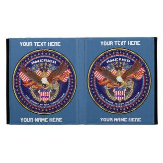 Patriotic iPad Folio View Notes Please iPad Cases