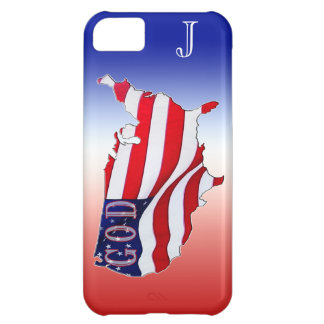 Patriotic iPhone 5 Case Keep GOD in America