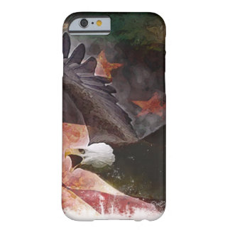 Patriotic iPhone 6 case with Bald Eagle and Flag