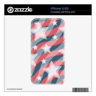 Patriotic iphone sleeves decals for iPhone 4