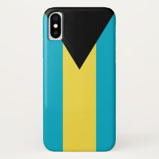 Patriotic Iphone X Case with Bahamas Flag