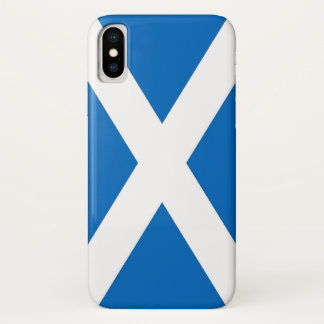 Patriotic Iphone X Case with Scotland Flag