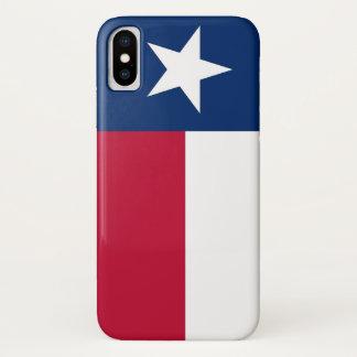 Patriotic Iphone X Case with Texas Flag