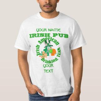 Patriotic Irish American St Patrick's day T-Shirt