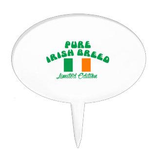 Patriotic Irish designs Cake Topper