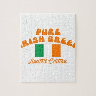 Patriotic Irish designs Jigsaw Puzzle