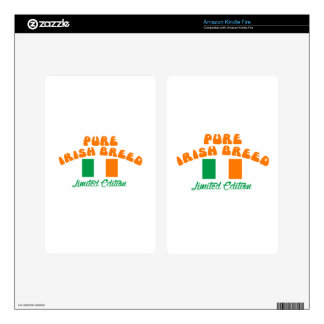 Patriotic Irish designs Kindle Fire Skins