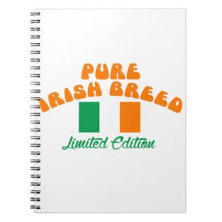 Patriotic Irish designs Notebook