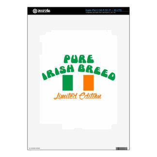 Patriotic Irish designs Skin For iPad 3