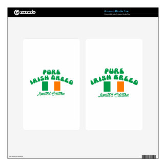 Patriotic Irish designs Skins For Kindle Fire