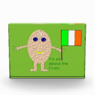 Patriotic Irish Egg Custom Award