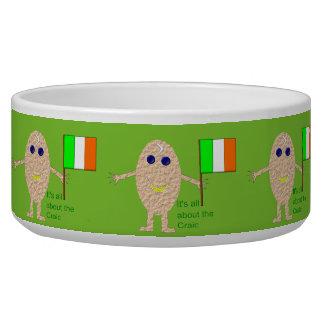 Patriotic Irish Egg Dog Bowl