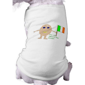 Patriotic Irish Egg Dog T Shir T-Shirt