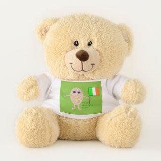 Patriotic Irish Egg Teddy Bear