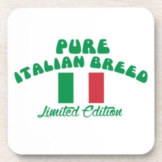 Patriotic Italian designs Coaster