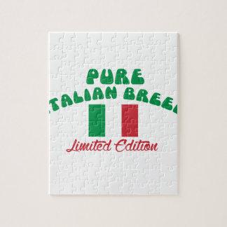 Patriotic Italian designs Jigsaw Puzzle
