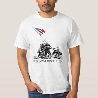 Patriotic Iwo Jima American Flag Raising WWII Shirt