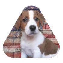 Patriotic Jack Russell Terrier Speaker