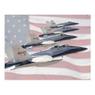 Patriotic Jets Postcard